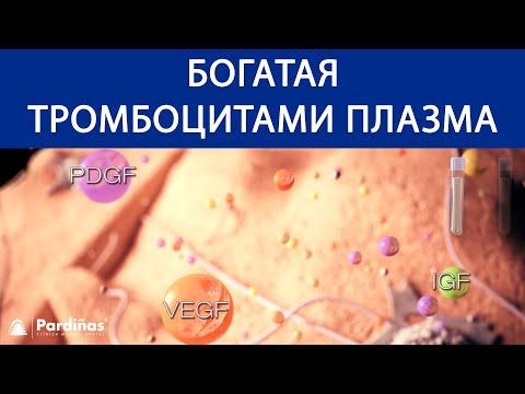 PRP терапия - богатая тромбоцитами плазма ©