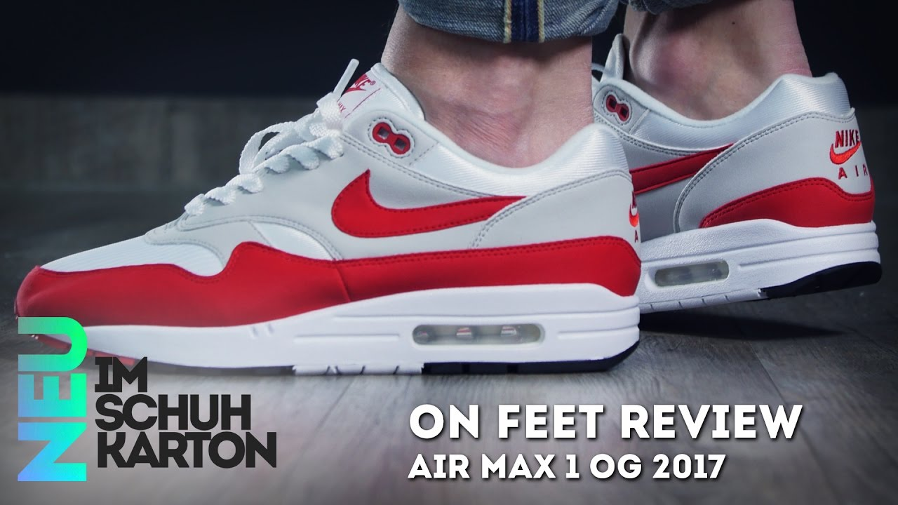 e5d0dbd00e Nike Air Max 1 OG Anniversary | Review - YouTube