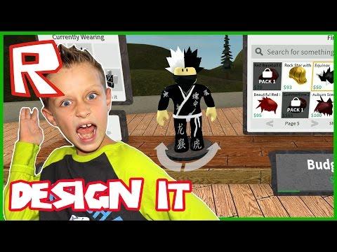 Karate Kid in  Design IT Roblox