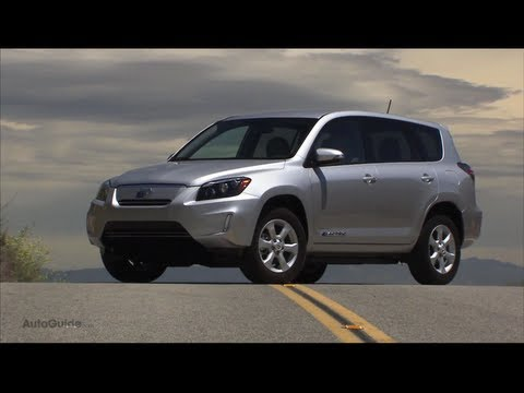2012 Toyota RAV4 EV Review -  Toyota pioneers the electric crossover, again