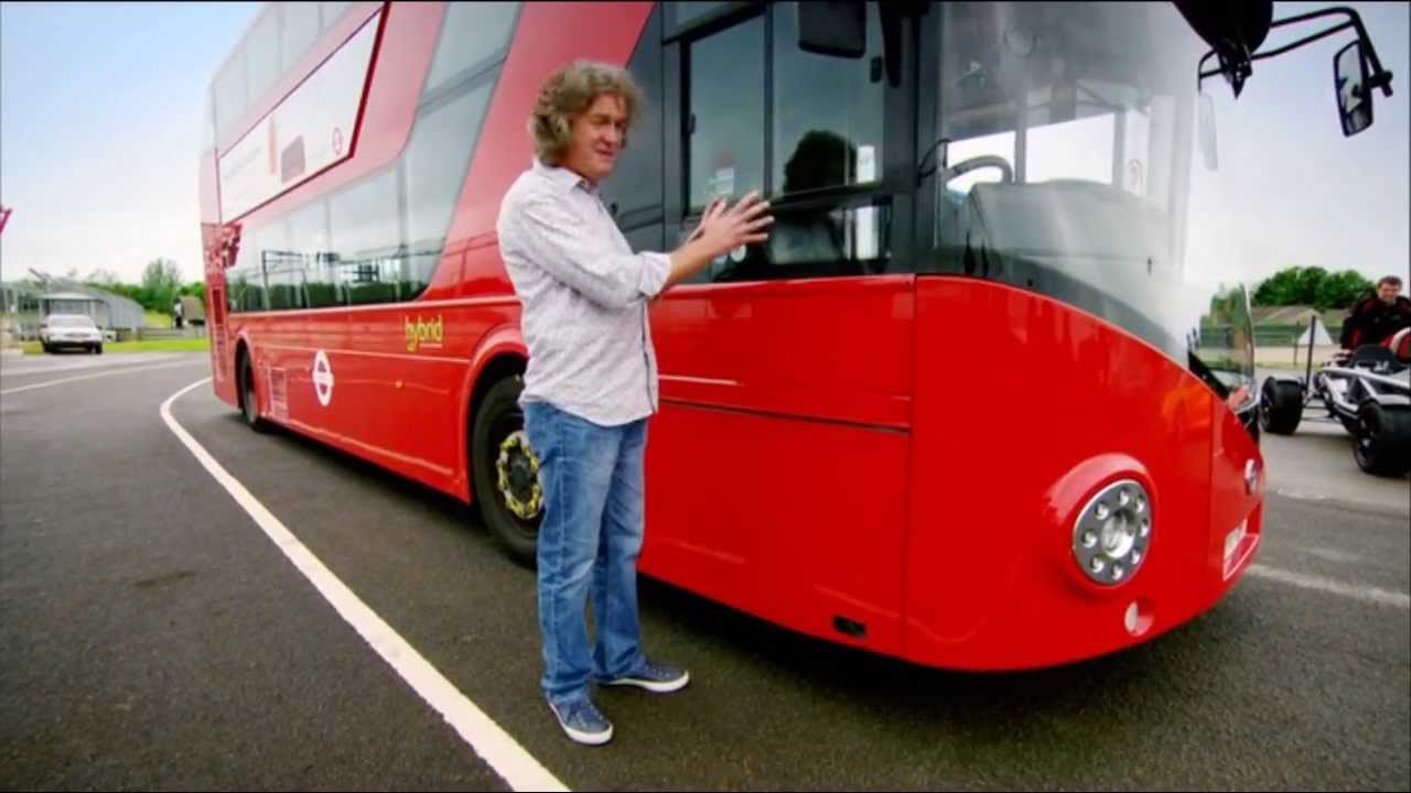 top gear james may brought a bus on a race track youtube. Black Bedroom Furniture Sets. Home Design Ideas