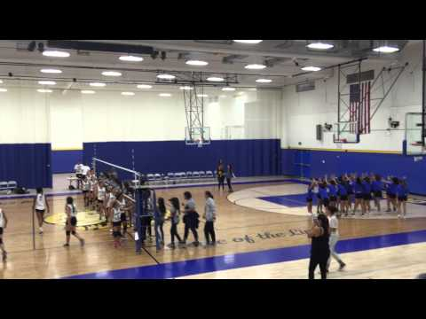 Hollencrest Middle school Volley ball