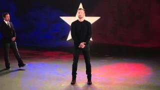 The 'Captain America: Civil War' cast join Chris Evans for a battle hymn.