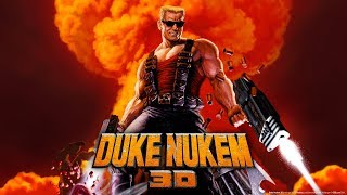 ☢ Duke Nukem 3D: 20th Anniversary World Tour \ Gameplay with Gamepad - Level 1 - 100 % Secrets