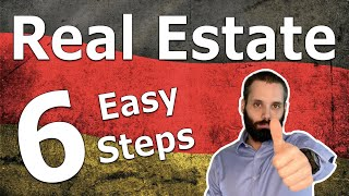Real Estate in Gerṁany #1: Introduction   6 Steps to Buy Any Property, House, or Flat in Germany