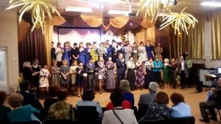Димитровград,  45 лет МПЛ. Финальная песня педагогов
