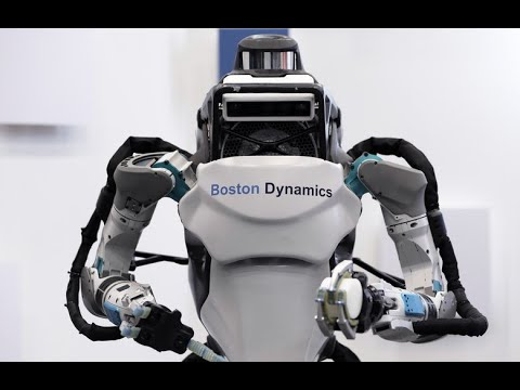 The Atlas Dynamic Humanoid Robot - Part 2 HD