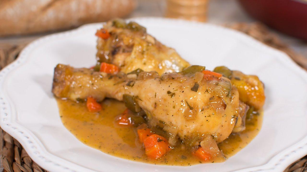 Pollo a la Cerveza Muy Fácil (RECETA SIN HORNO) | Muslitos