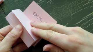Wie man ein Flip Book Animation