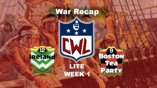 Clash of Clans - CWL Lite Week 1, Ireland/BTP VS AnduneWar