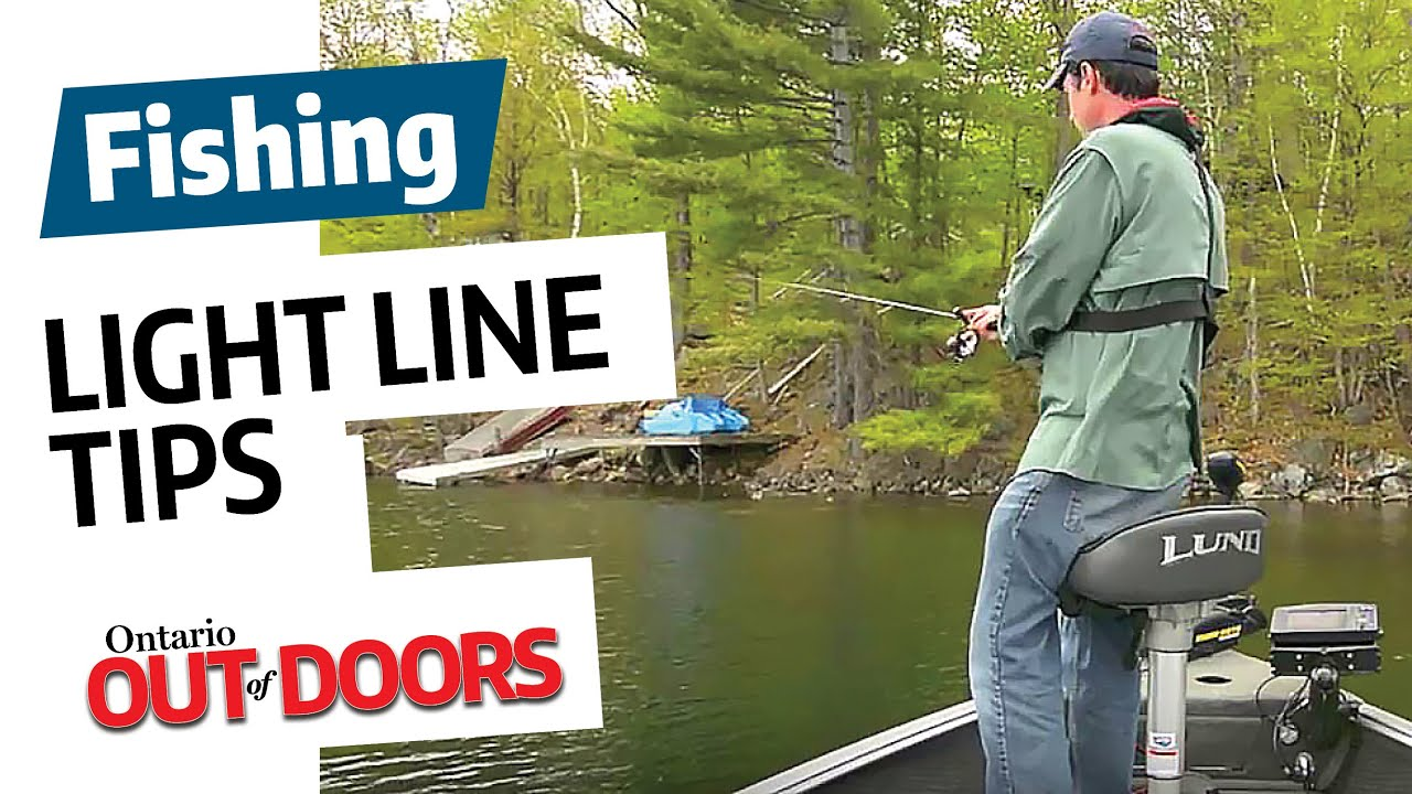 fishing how-to: light line tips - youtube, Reel Combo