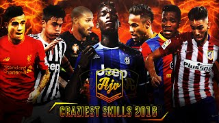 CRAZIEST FOOTBALL SKILLS 2016 | Nutmegs, Dribbles, Rabonas & More! | ft. Neymar, Pogba & More!