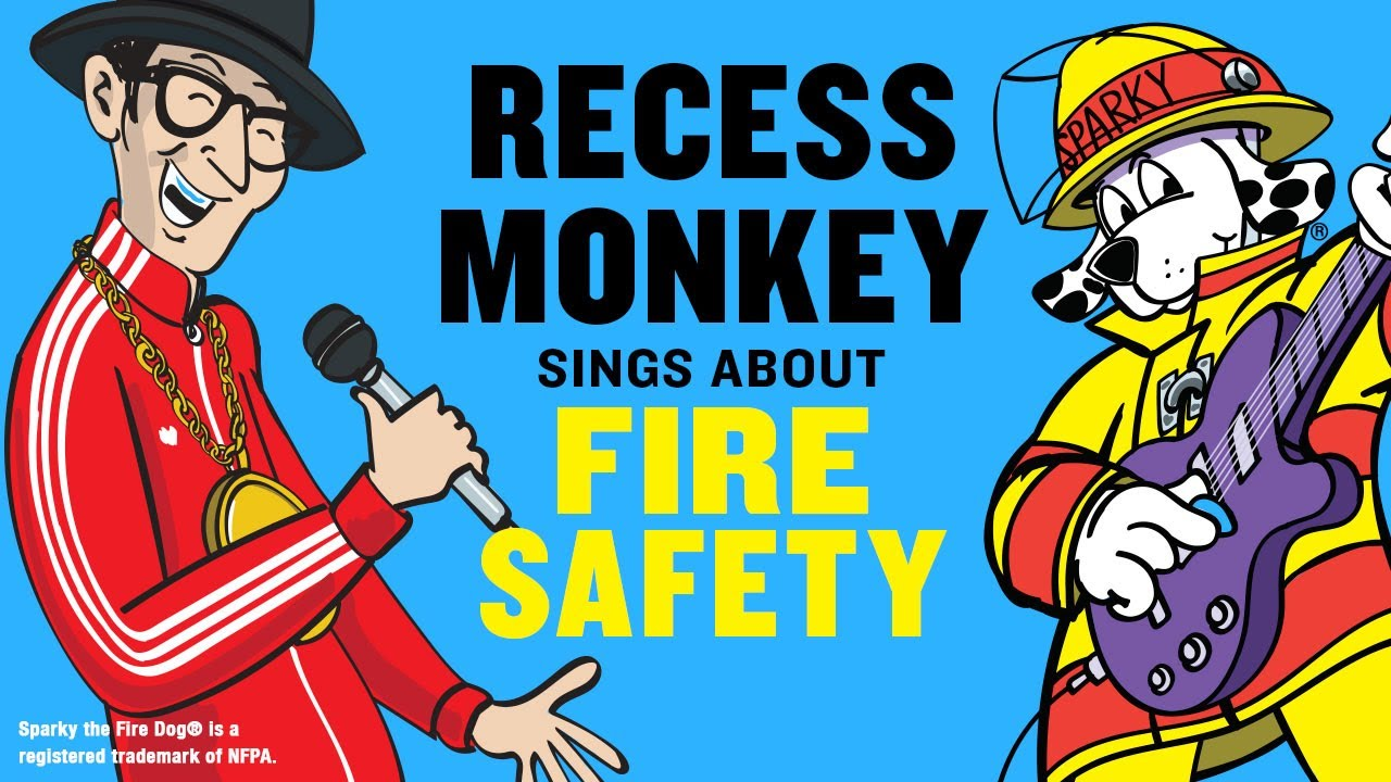 The Importance Of Recess Two Videos >> Fire Safety Video For Kids With Recess Monkey Sparky The Fire Dog