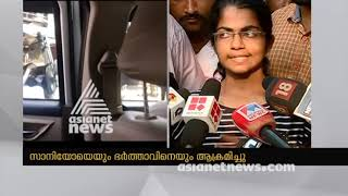 Asianet News Reporter and Husband attacked by Hartal supporters