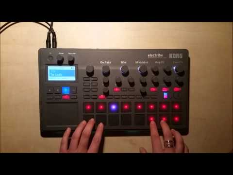 KORG Electribe 2 - What's on my Tribe? - Part 1