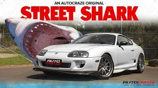 🦈 STREET SHARK // Toyota Supra Build - Rays CE28SL Wheels, Kumho KU39, Guard Rolling