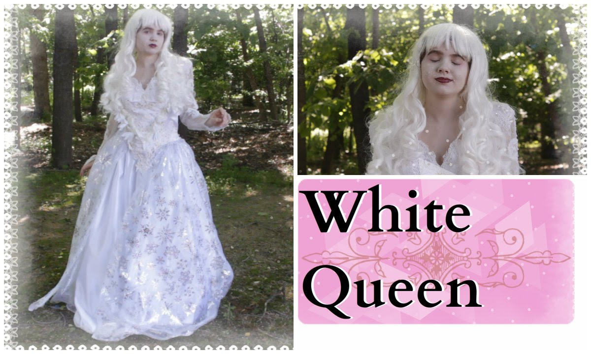 How To Make The White Queen Costume and Makeup - Alice In ...