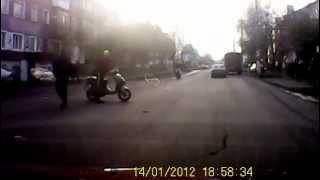 Донской сбили глупого пешехода