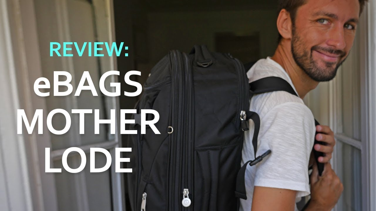 Review  eBags TLS Mother Lode Weekend Convertible Carry-on Backpack ... 82a2cb24f0dda
