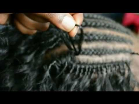 How To Do Crochet Braids Latch Hook Hair Tutorial