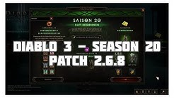 Diablo 3: Die neue Season 20 (Items, Sets, Saisonthema)