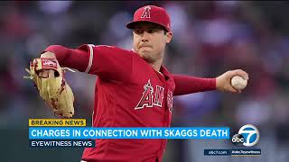 Former Angels employee Eric Kay charged in connection with Tyler Skaggs' death