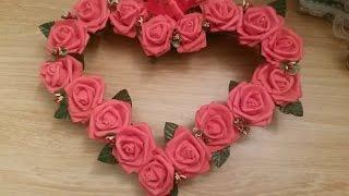Декоративное сердце супер легкий способ ✔ ℳAℛίℕℰ DIY✔