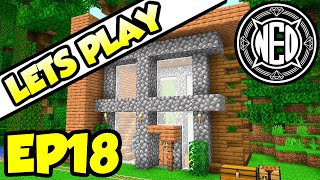 Modern Jungle House | Minecraft 1.14 Let's Play Ep. 18 (TheNeoCubest)