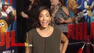 Fernanda Romero WRECK-IT RALPH World Premiere Cherry-Red Carpet ARRIVALS