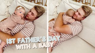parker's 1st father's day + unboxing packages!