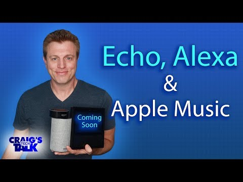 Amazon Echo and Apple Music - Coming Soon to Alexa Mp3
