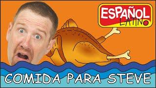 Comida para Niños con Steve and Maggie Español | Videos e historias divertidas para Niños