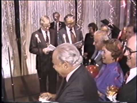 Surprise 65th Birthday Party for Robert Strauss: Tuesday, October 18, 1983