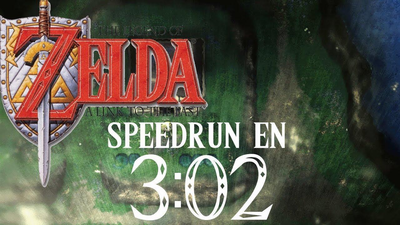 link to past speedrun