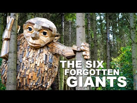 The Six Forgotten Giants - Recycle Sculpture Treasure Hunt