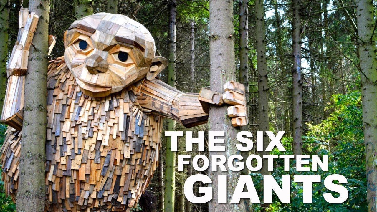 Αποτέλεσμα εικόνας για The Six Forgotten Giants - Recycle Sculpture