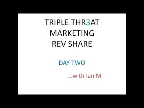 Triple Threat Rev Share Day 2 Strategy Review Proof 2015 Ian Michaels