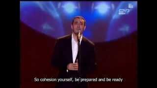 Kadhim El Sahir: Too much talk ! ... with ُEnglish subtitles ... كثر الحديث