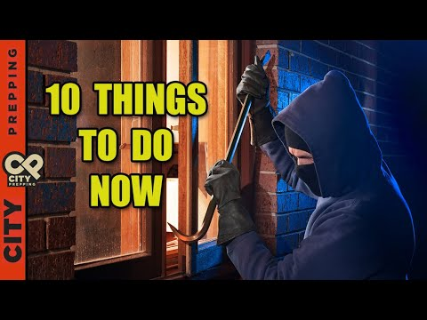 Top 10 Ways to Protect Your House From Burglars - YouTube
