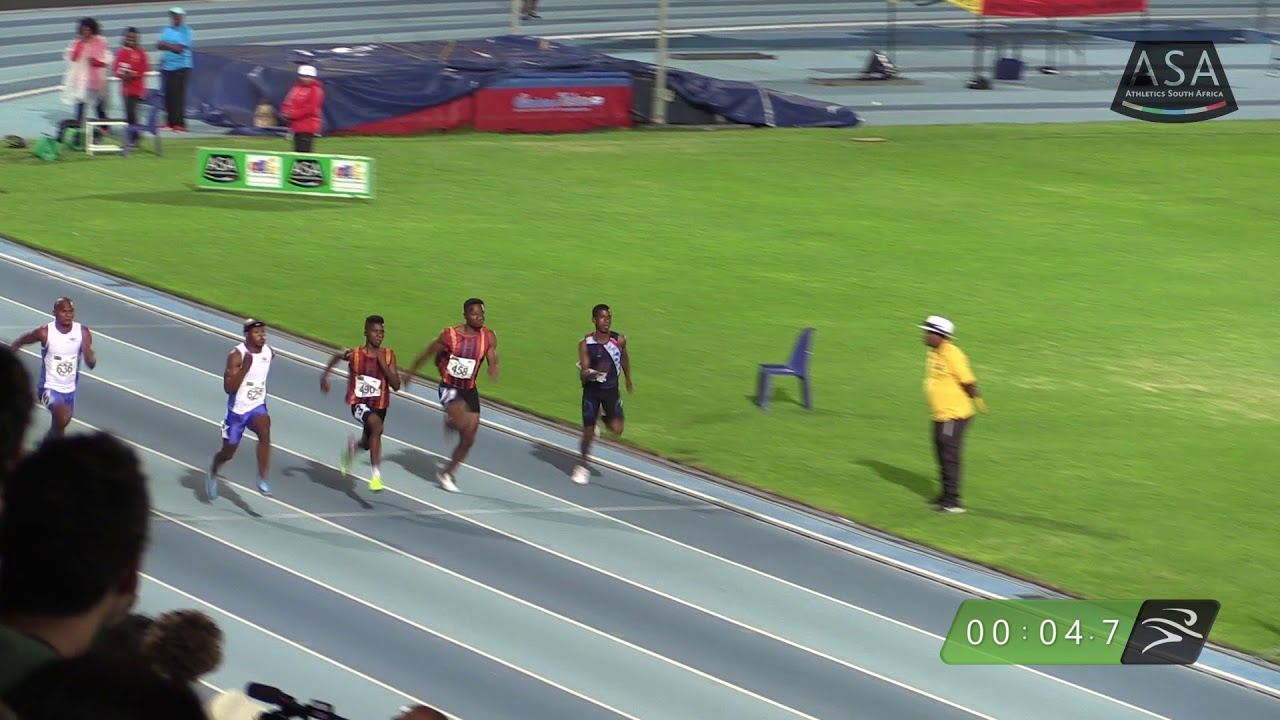 THE LION (Magakwe) reclaims South African 100m Crown.