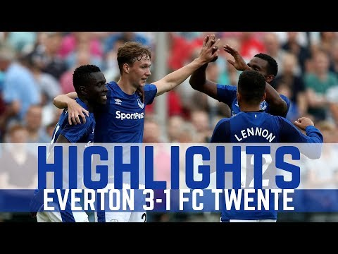 HIGHLIGHTS: EVERTON 3-0 FC TWENTE - MIRALLAS, LENNON AND DOWELL
