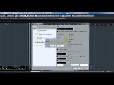 Cubase 8 Setup ASIO Treiber Interface einrichten /Für Home Recording  Anfänger
