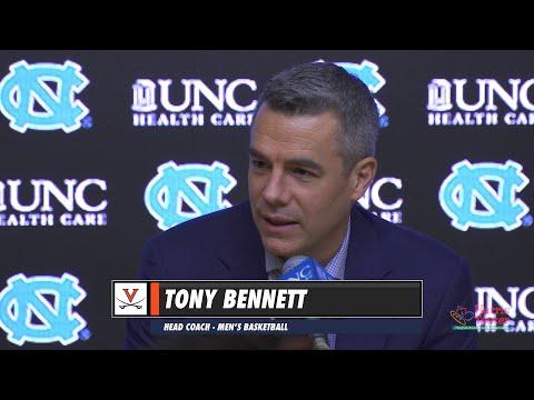 MEN'S BASKETBALL: UNC - Tony Bennett Post Game