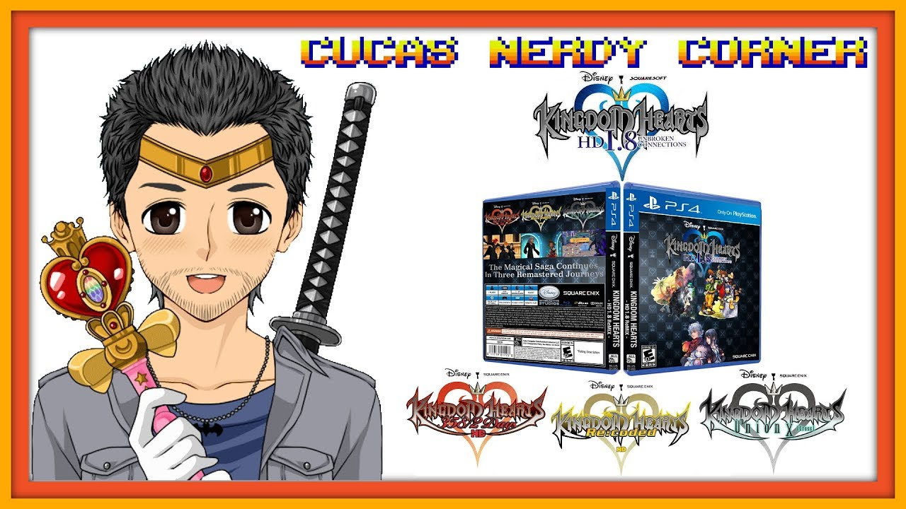 KH 358/2 Days/Re:coded/Union χ [Cross] PS4 HD Ports