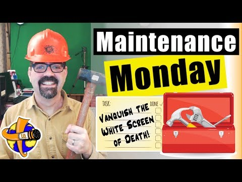 HTTP ERROR 500 In Joomla - Vanquish The White Screen Of Death 🛠 Maintenance Monday Live Stream #024