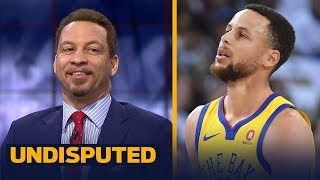 Chris Broussard on Golden State's NBA title chances without Steph Curry | UNDISPUTED