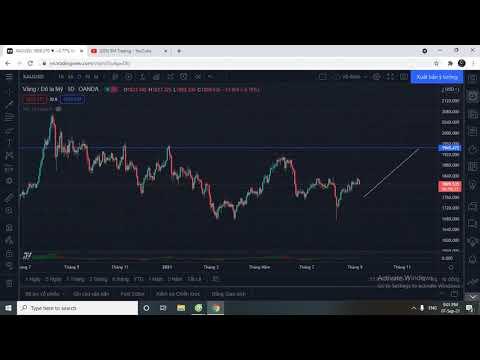 Bitcoin sẽ đi về đâu?Vàng sẽ đi về đâu??? Nhận định Vàng,Bitcoin 7/9/2021