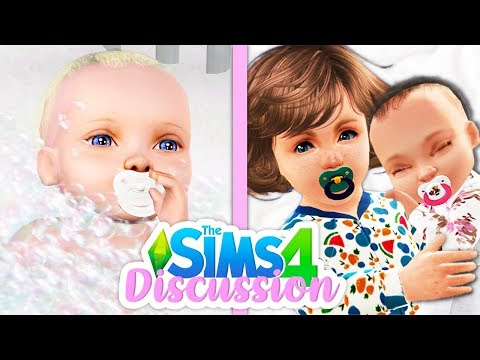 IMPROVED BABIES🍼👶 // THINGS I'D LOVE TO SEE FOR BABIES | THE SIMS 4 DISCUSSION thumbnail