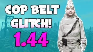 GTA 5 How To SAVE Cop Belt Glitch 1.44 *AFTER HOURS DLC* (GTA Online Glitches)