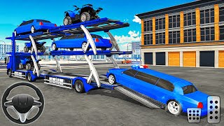 US Police Limo Car Transporter Truck 2020 - Android Gameplay screenshot 5